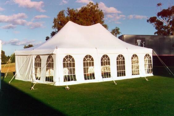 6m x 9m Electron - 3 piece roof | Baytex - 1