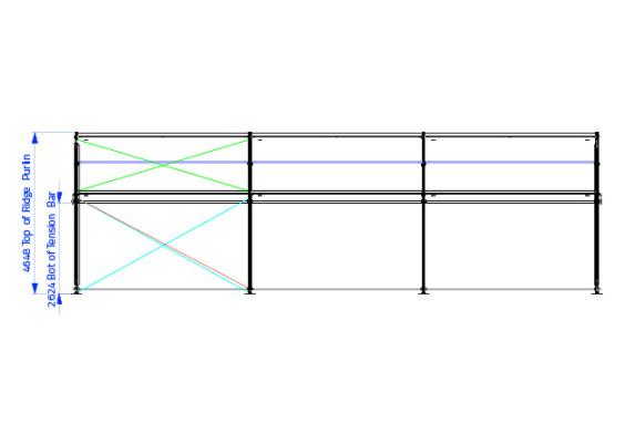 10m x 15m Gable End | baytex - 1