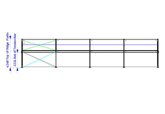 10m x 20m Gable End | baytex - 2