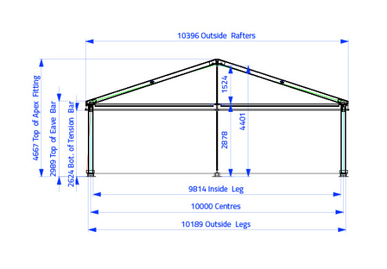 10m x 20m Hip End | Baytex - 1