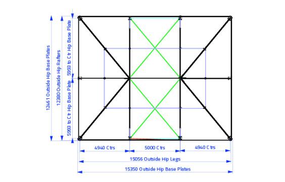 12m x 15m Gable End | Baytex - 3