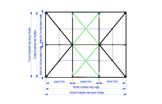 12m x 15m Hip End | Baytex - 0