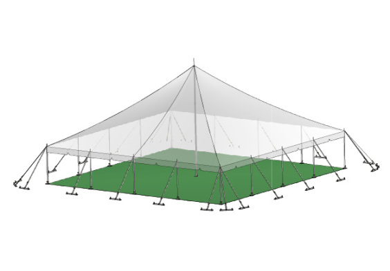 12m x 12m Electron - 2 piece roof | Baytex - 3