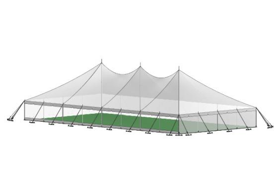12m x 24m Electron - 4 piece roof | Baytex - 3