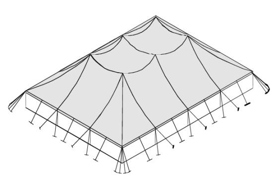 18m x 24m Electron - 4 piece roof | Baytex - 3