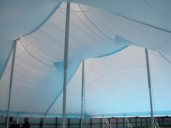 20m x 20m Electron - 2 piece roof | Baytex - 1