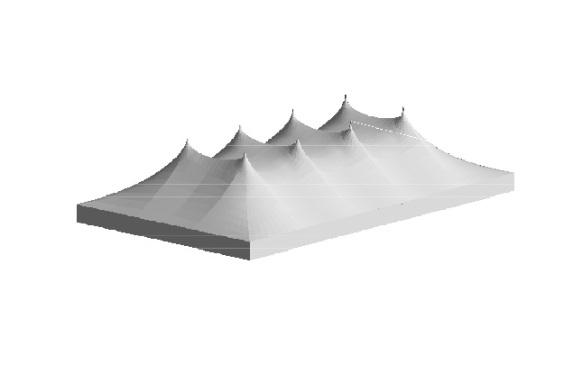 30m x 50m Electron - 4 piece roof | Baytex - 3