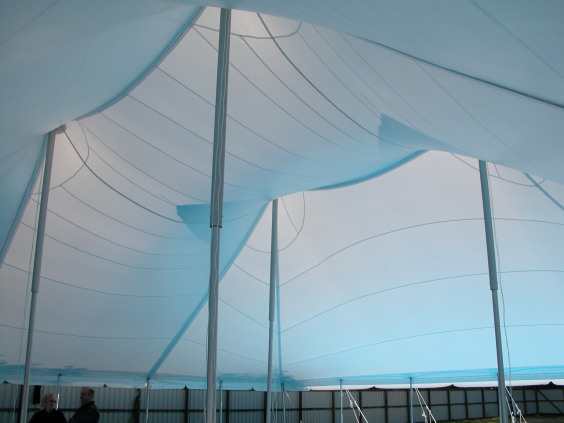 18m x 18m Electron - 3 piece roof | Baytex - 1