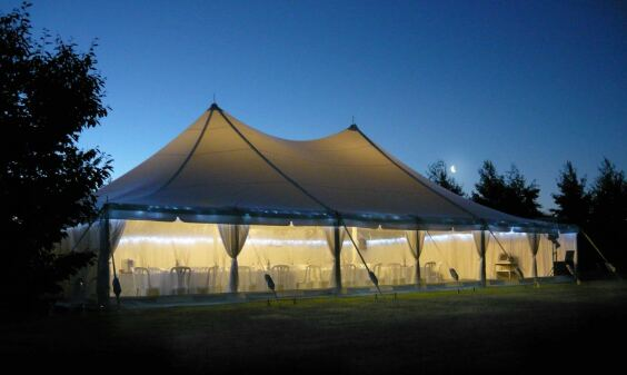 12m x 18m Electron - 3 piece roof | Baytex - 2