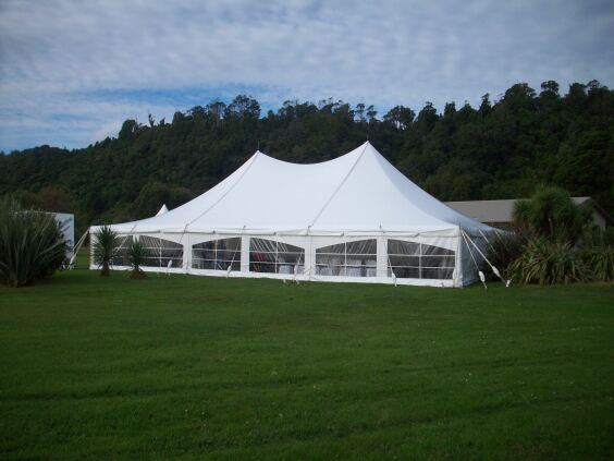 12m x 18m Electron - 3 piece roof | Baytex - 1