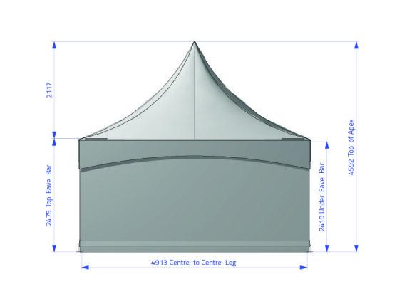 Fete 5m x 5m | Baytex - 1