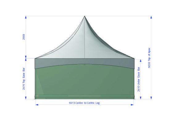 Fete 6m x 6m | Baytex - 1