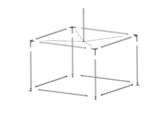 Fete 3m x 3m | Baytex - 0