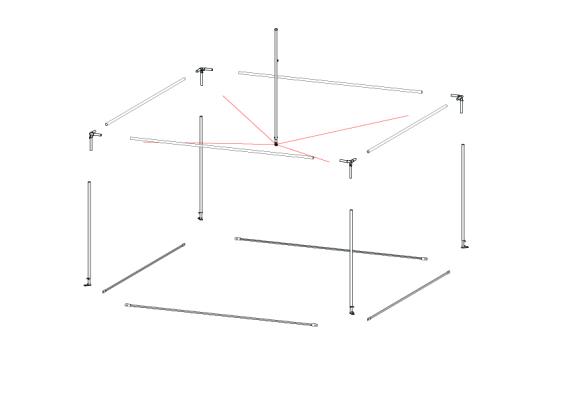 Fete 4m x 4m | Baytex - 0