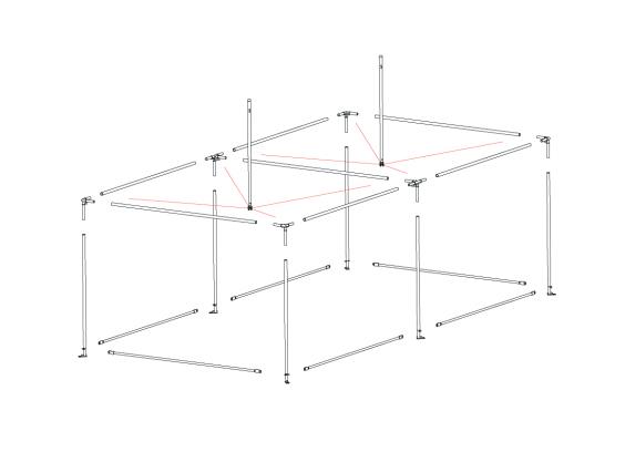 Fete 4m x 8m | Baytex - 0