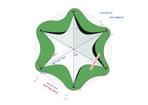 Star Canopy Large | Baytex - 0