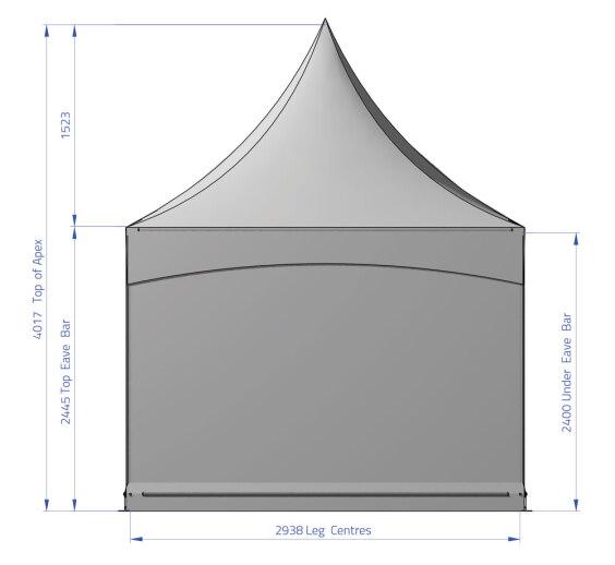 Fete 3m x 3m | Baytex - 1