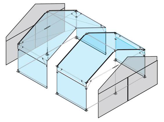 6m x 6m Gable End   Baytex - 3