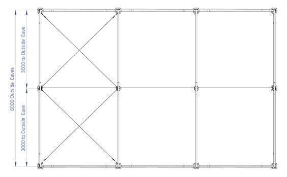6m x 9m Gable End | Baytex - 0