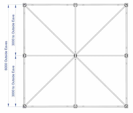 6m x 6m Hip End | Baytex - 0
