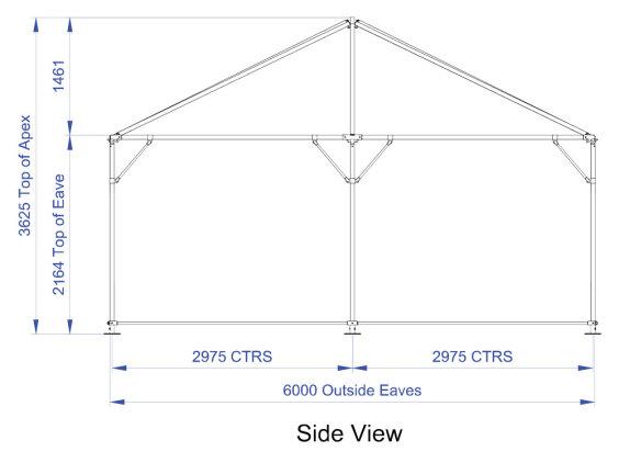 6m x 6m Hip End | Baytex - 2