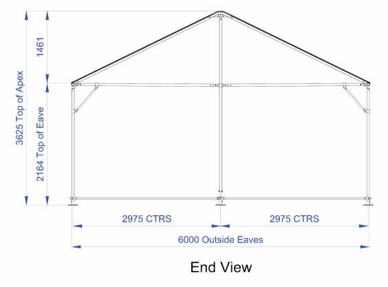 Clipframe 6m Series Gable End | Baytex - 0