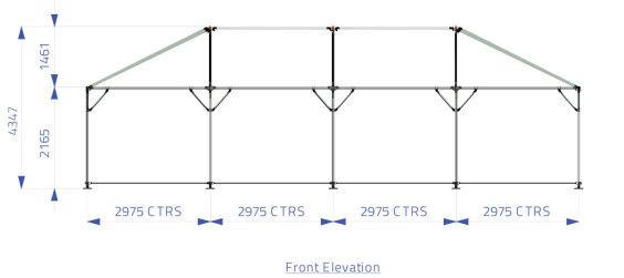 6m x 12m Hip End   Baytex - 1
