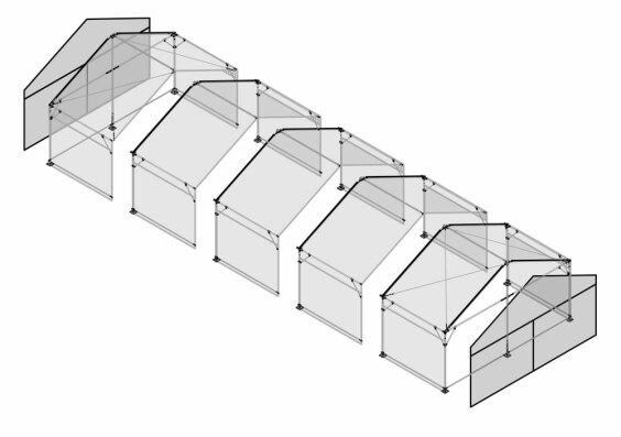 6m x 15m Gable End | Baytex - 3