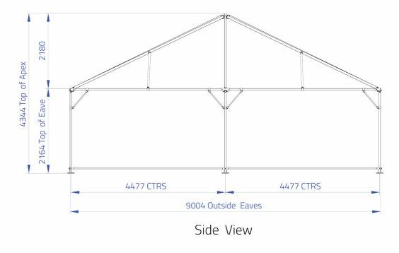 9m x 9m Hip End | Baytex - 1