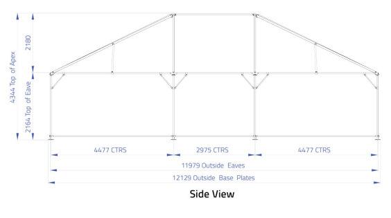 9m x 12m Hip End   Baytex - 1