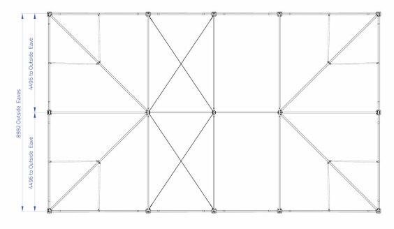 9m x 15m Hip End | Baytex - 0