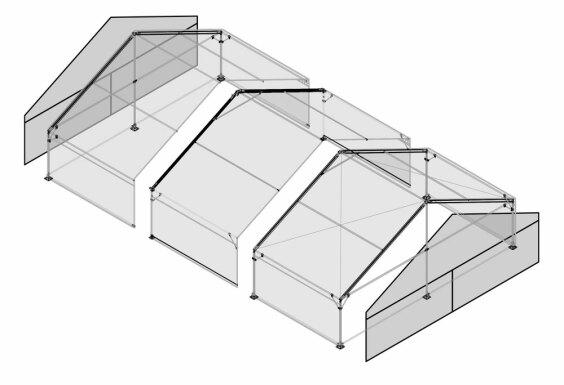 10m x 15m Gable End | Baytex - 3