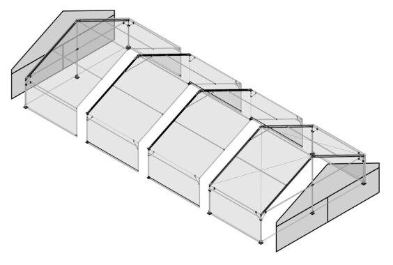 10m x 20m Gable End | Baytex - 3