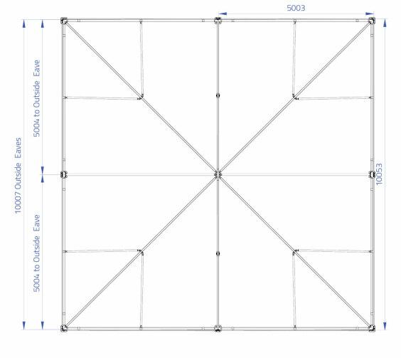 10m x 10m Hip End | Baytex - 0