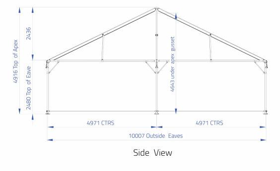 10m x 10m Hip End | Baytex - 1