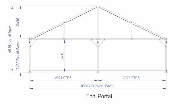 10m x 10m Hip End | Baytex - 2