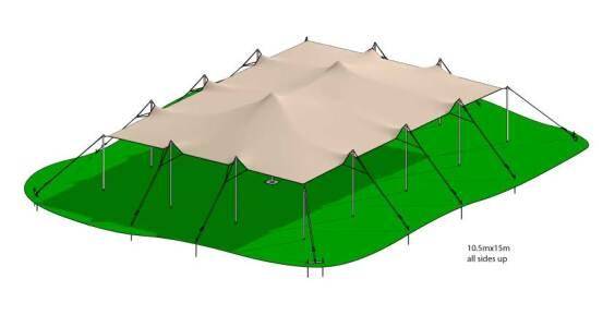 GeoFlex Stretch Tents   Baytex - 0