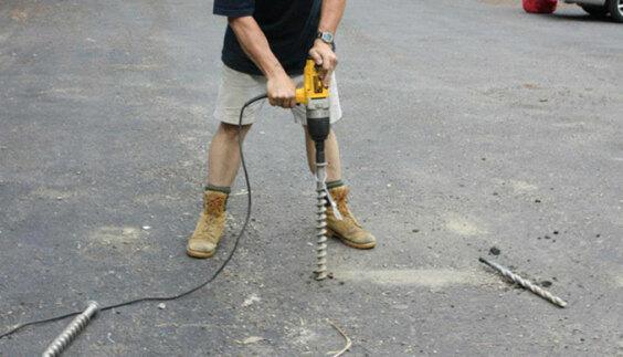 Earth Anchors - Marquee Installation - Penetrator Ground Screws - Baytex   Baytex - 1